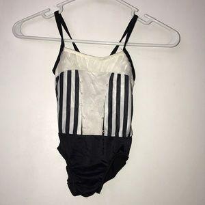 Other - White and black bodysuit size CXS EUC